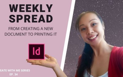 Do It Yourself – Tutorials – CREATE WITH ME | Weekly Planner Spread | Set Up Your Document Correctly For Print | Adobe Indesign