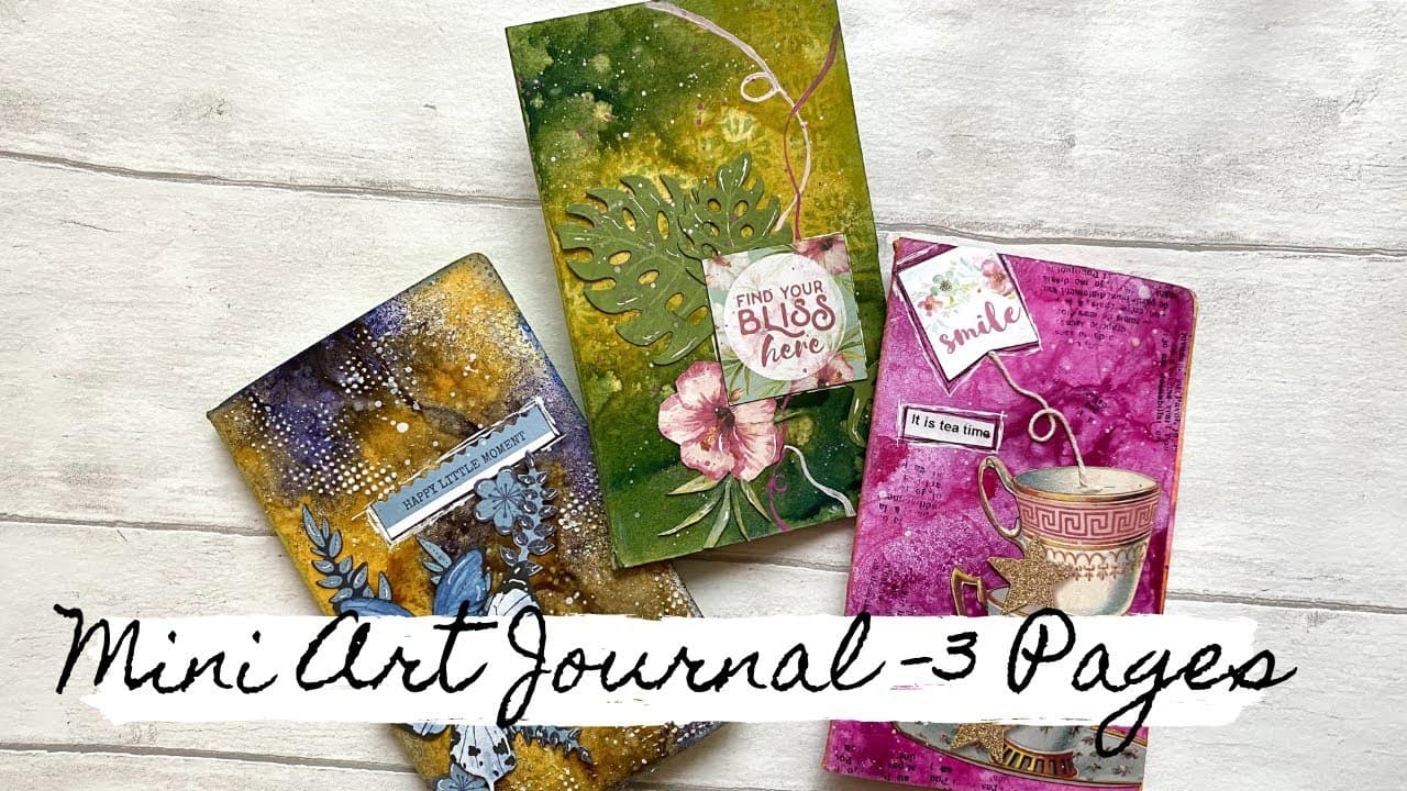 Create Your Own Mini Journal - 3 Pages!