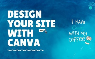 Do It Yourself – Tutorials – Create a site with Canva easily, Portfolio site only
