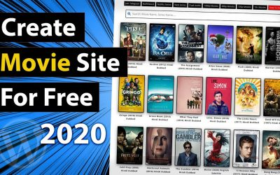Do It Yourself – Tutorials – Create your own Movie Website – Full Tutorial 2020