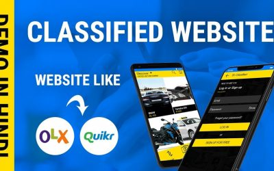 Do It Yourself – Tutorials – Develop Your Own Classified website like OLX,Quikr | Quikr Clone User Panel in Hindi
