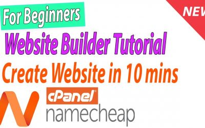 Do It Yourself – Tutorials – For Beginners Complete Namecheap WEBSITE BUILDER Tutorial from Scratch – Create Website for Business