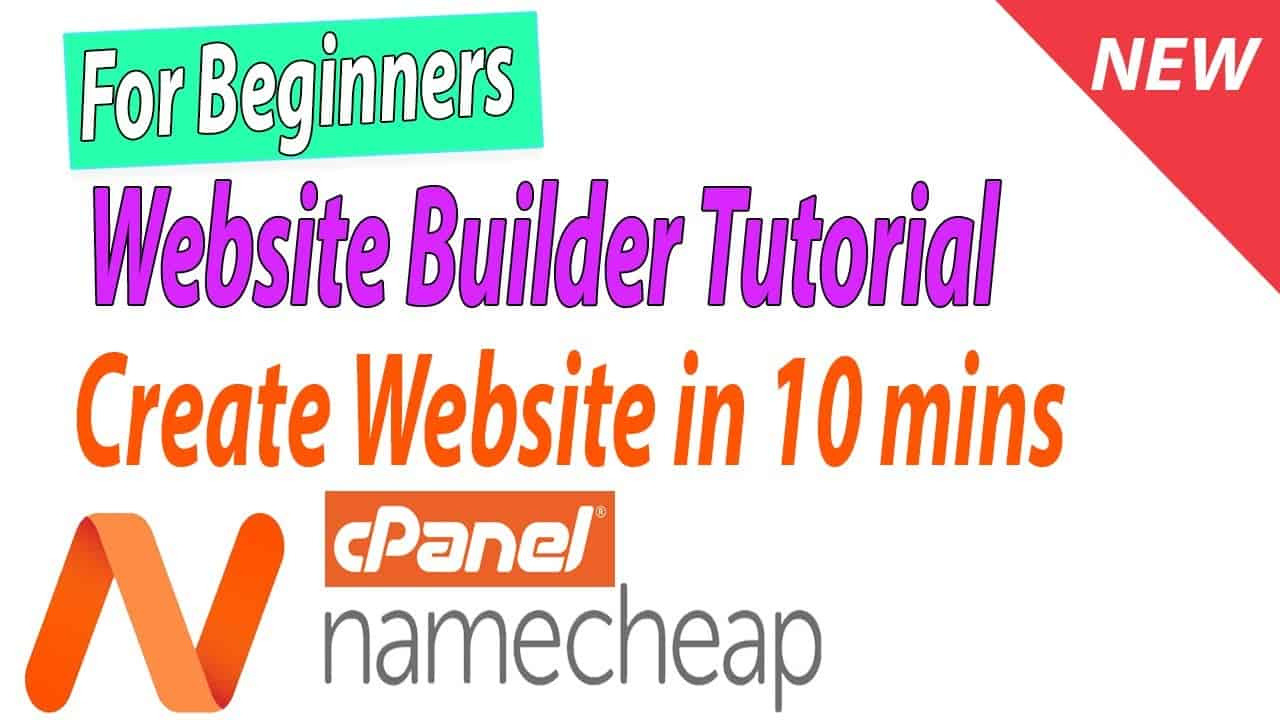 For Beginners Complete Namecheap WEBSITE BUILDER Tutorial from Scratch - Create Website for Business