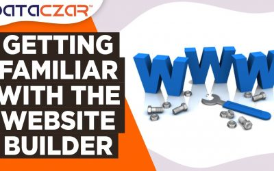 Do It Yourself – Tutorials – Getting Familiar With the Website Builder  (Short Version)