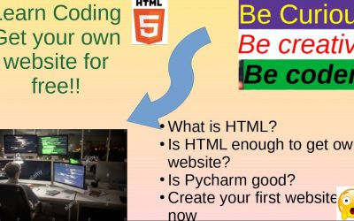 Do It Yourself – Tutorials – HTML Tutorials:  Ep-01| Learn to make your own website! | Journey to became professional coder|