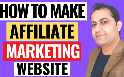 Do It Yourself – Tutorials – How To Make Affiliate Marketing Website For Beginners 2021(Blog Style Website Step By Step Tutorial)