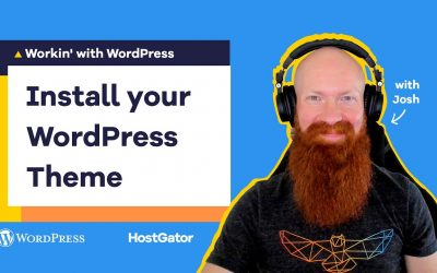 Do It Yourself – Tutorials – How to Choose and Install a WordPress Theme – HostGator Tutorial