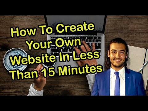 How to Create Quickly a Website Using Bluehost and Wordpress In Less Than 15 Minutes