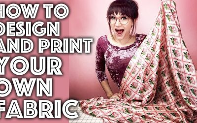 Do It Yourself – Tutorials – How to Design and Print Your Own Fabric Step by Step Tutorial | Sew Anastasia