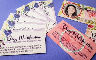 Do It Yourself – Tutorials – How to Make your Own Business Cards with Cricut Design Space | How to Print and Cut Business Cards