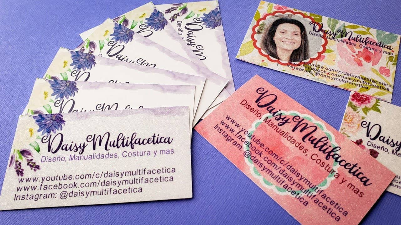 How to Make your Own Business Cards with Cricut Design Space | How to Print and Cut Business Cards