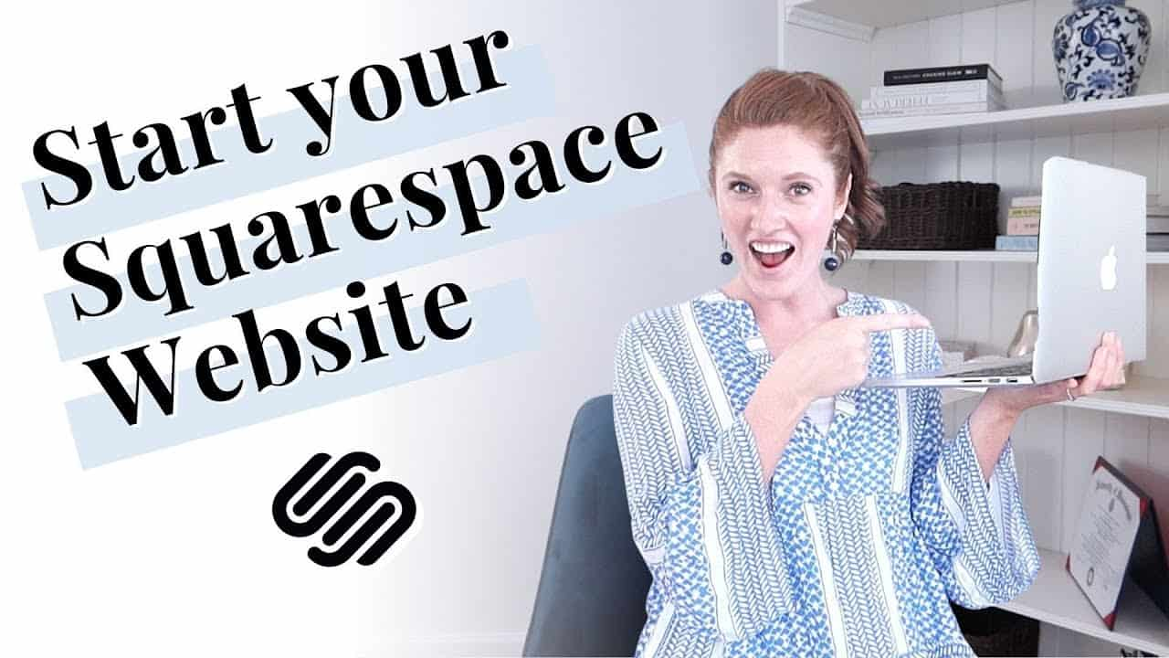 How to start building a Squarespace website (7.1)