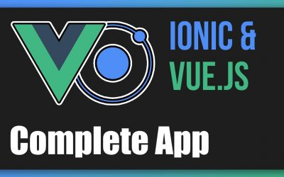 Do It Yourself – Tutorials – Ionic & Vue.js – Full Tutorial (Build a Complete App)