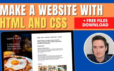 Do It Yourself – Tutorials – Make a Simple Website in HTML and CSS – HTML Tutorial