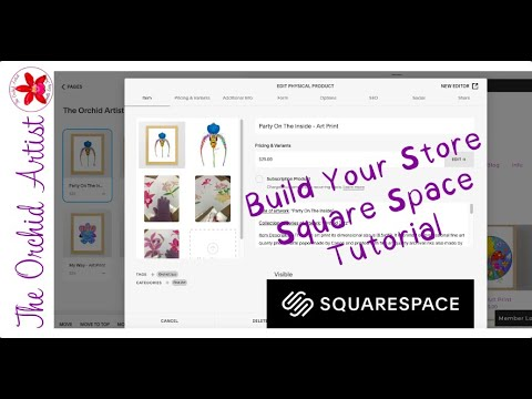 Square Space Tutorial - How To Build Your Own Online Shop