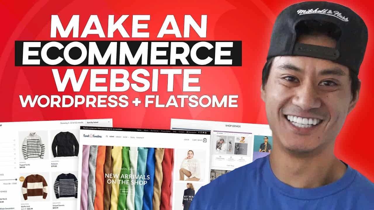 CREATE an ECOMMERCE WEBSITE with Wordpress 2020 - (Flatsome theme tutorial)