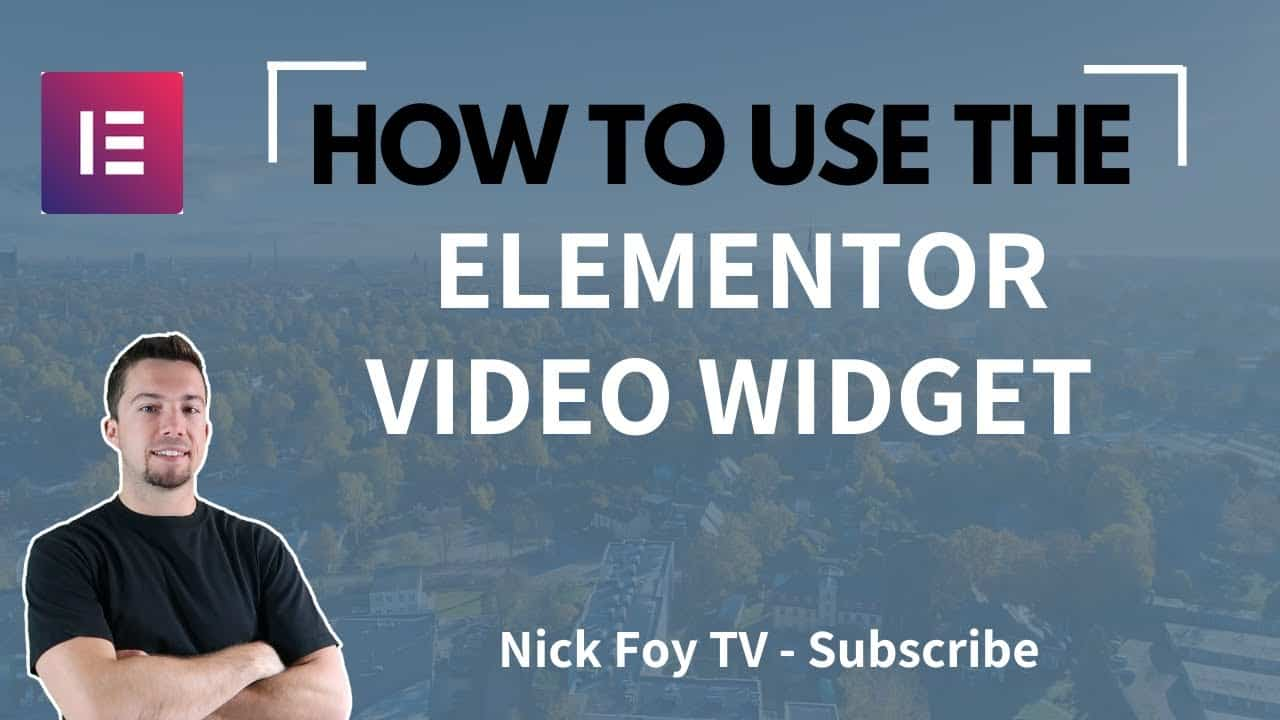 [Elementor Tutorial] - How to Use the Video Widget (WordPres Page Builder)