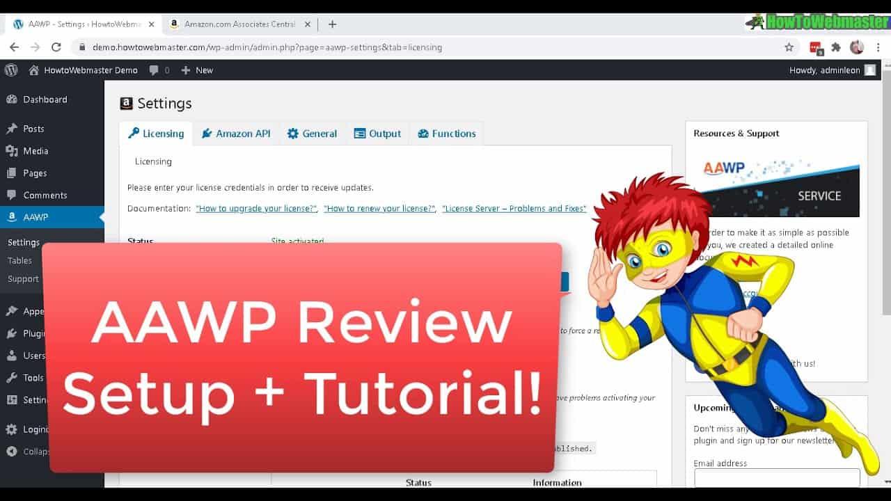 FULL AAWP Review & Setup Tutorial Part 2 - BEST Amazon Affiliate Wordpress Plugin