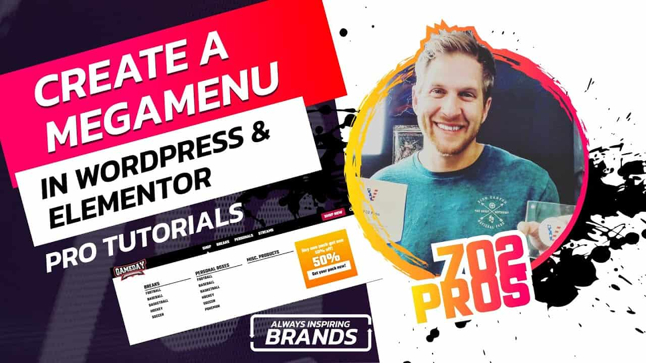 How to Create a Mega Menu with Elementor | WordPress Tutorial | Website Design [Elementor Tutorial]