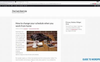 WordPress For Beginners – How to wrap text around an image in WordPress   WP Studio