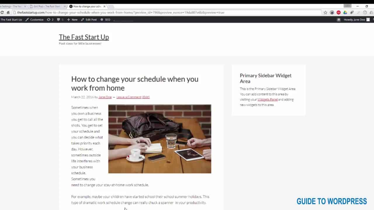 How to wrap text around an image in WordPress | WP Studio