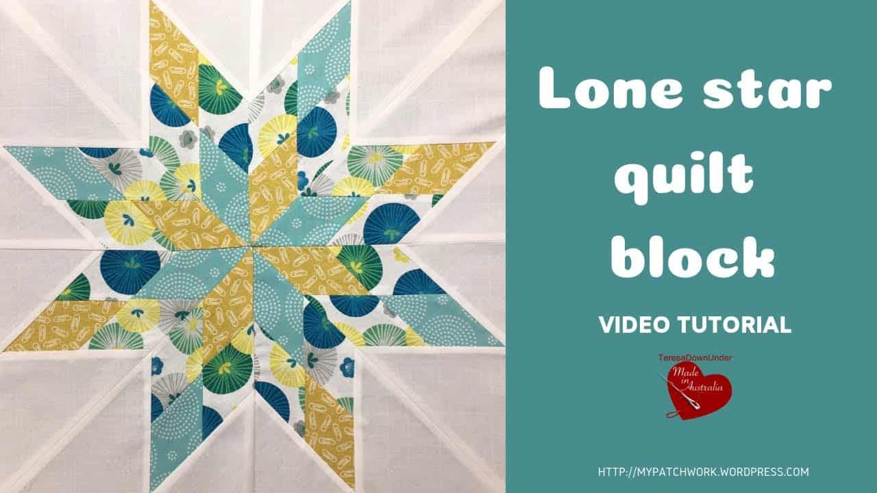 Lone star video tutorial