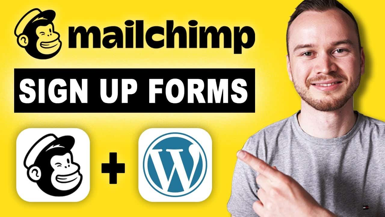 Mailchimp Sign Up Form Tutorial (+WordPress Integration)
