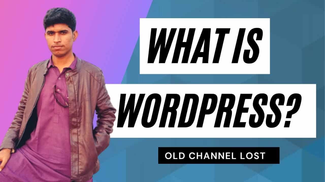 What is WordPress?   WordPress Full Guide Tutorial Video   WP #1