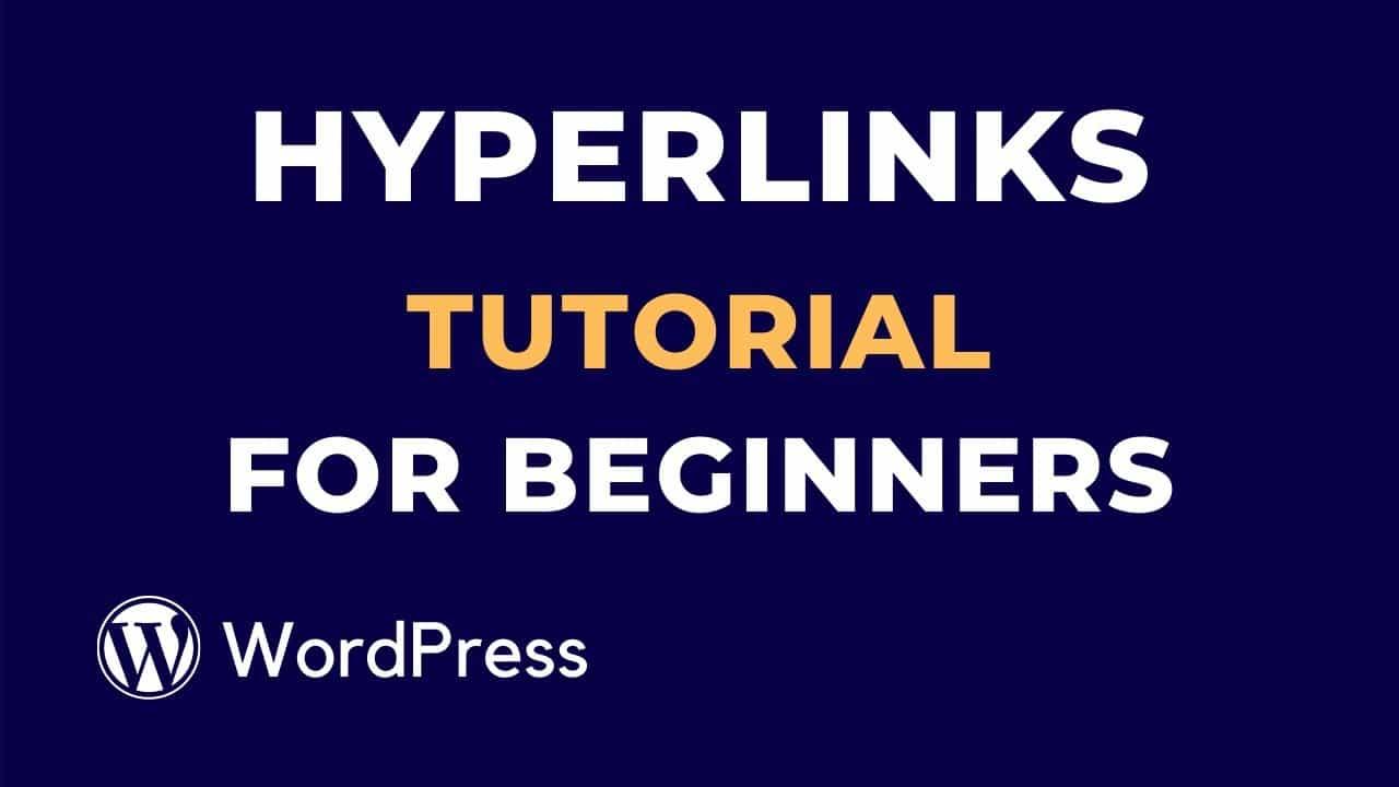 WordPress Hyperlinks Tutorial for Beginners | part-4 | WP Studio