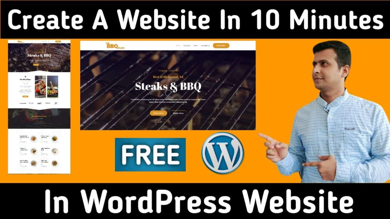 How to Make a Website in 10 Minutes   Easy & Simple
