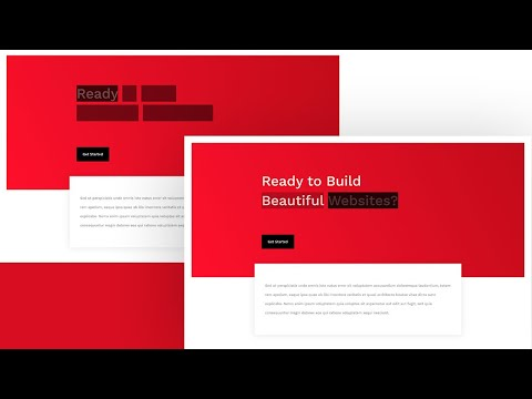 How to Add CSS Text Block Animations to Your Headline with Divi
