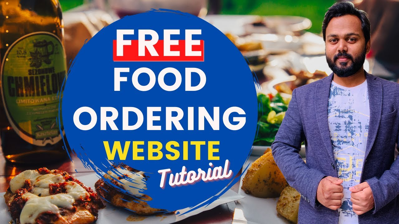 How to make a Pizza Delivery Website - Step by Step Tutorial to create a Food Delivery Website