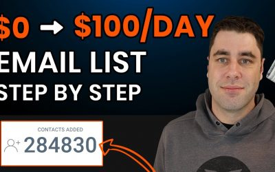 Do It Yourself – Tutorials – How To Build A $100/Day Affiliate Marketing Email List FREE! (Step by Step)