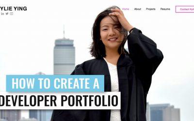 Do It Yourself – Tutorials – How to Create a Portfolio Website – Making a Software Developer Portfolio