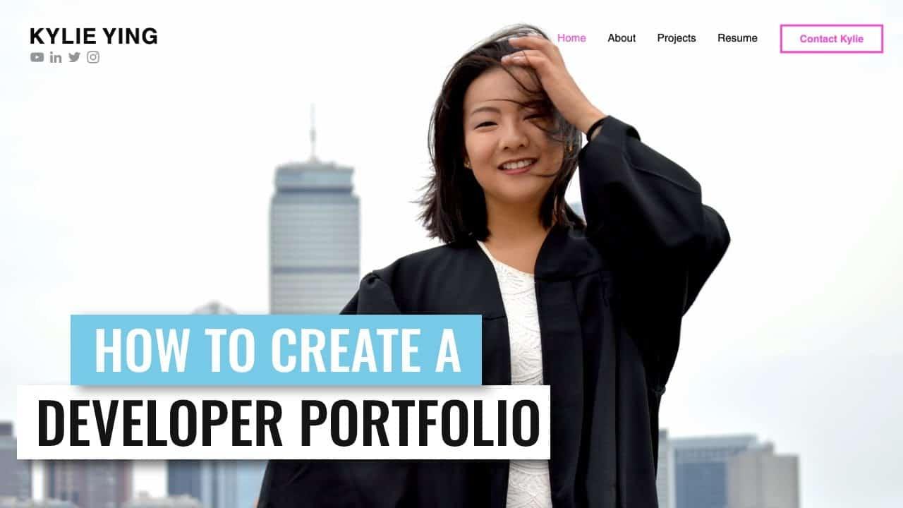 How to Create a Portfolio Website - Making a Software Developer Portfolio