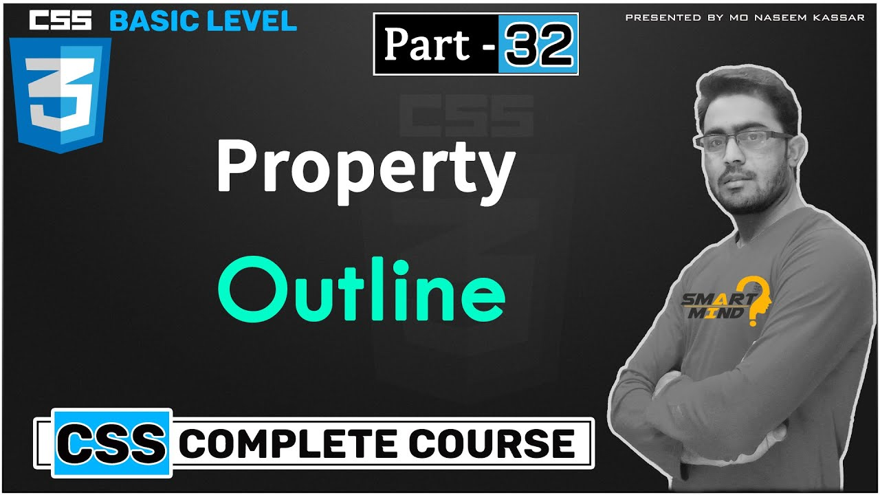How to use Outline in css difference between border and outline in css #32