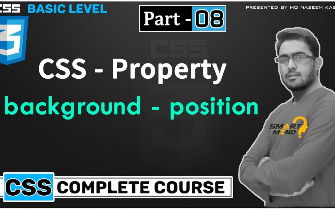 08. Background position property in css for beginners in hindi by smart mind part – 8