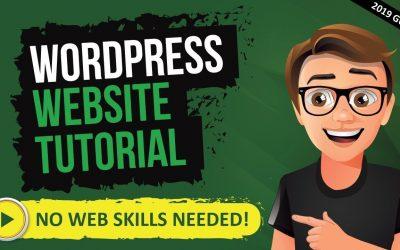 Do It Yourself – Tutorials – How To Make A Website On WordPress 2020 [WordPress Tutorial For Beginners 2020]