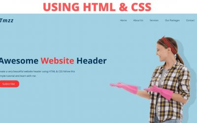 Do It Yourself – Tutorials – How to make a beautiful website using HTML and CSS step by step tutorial