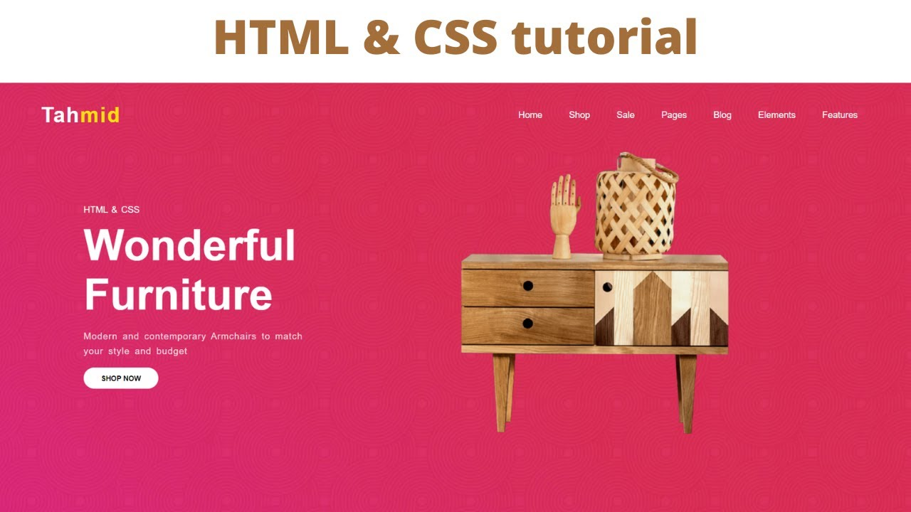How to create a website using html and css step by step tutorial