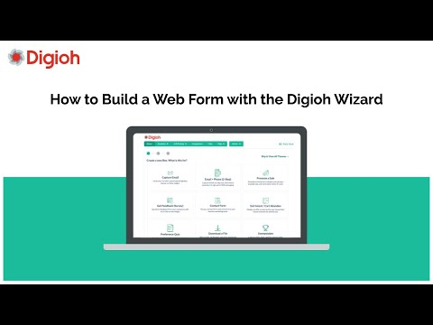 How to Build a Web Form with the Digioh Wizard