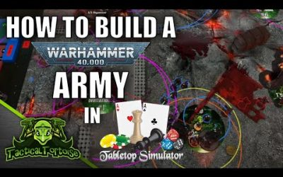 Do It Yourself – Tutorials – Auras On Your TTS Models – How to Build a TTS 40k Army Using Battlescribe2TTS – New Player Tutorial