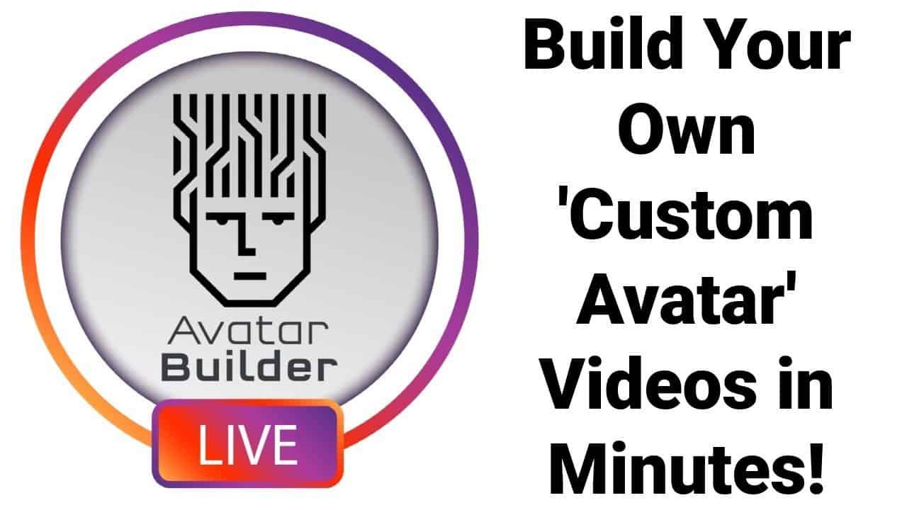 AvatarBuilder Review Demo and Bonus - Build Your Own Custom Avatar Videos in Minutes