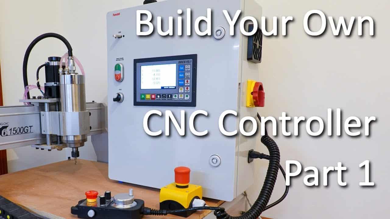 Build Your Own CNC Controller, Part 1  | DDCS V3.1 |  6040 Router