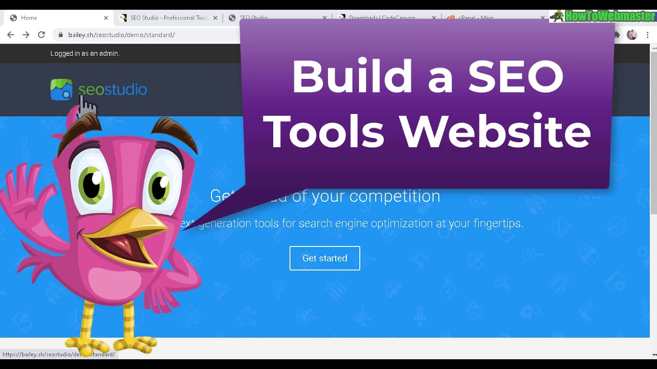 Build a SEO Tools Site - CodeCanyon SEO Studio PHP Script Review & Setup Tutorial