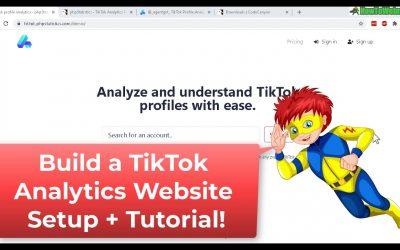 Do It Yourself – Tutorials – Build a TikTok Analytics Stats Website – PHPstatistics Review & Setup Tutorial
