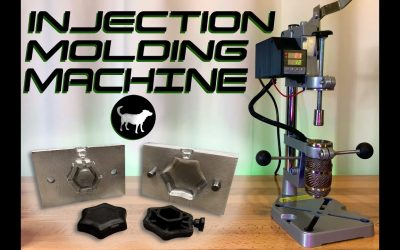 Do It Yourself – Tutorials – Build your own Injection Molding Machine for around $200