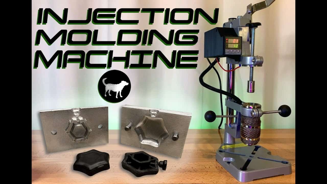 Build your own Injection Molding Machine for around $200