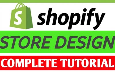 Do It Yourself – Tutorials – Complete Shopify Website Design Step By Step   Shopify Tutorial For Beginners   Shopify Store Design
