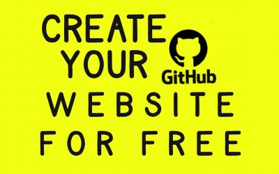 Do It Yourself – Tutorials – Create and launch your website using Git for free   How to create your website using GitHub for free